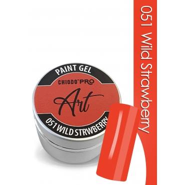 CHIODO PRO Art Paint Gel - 051Wild Strawberry 5ml
