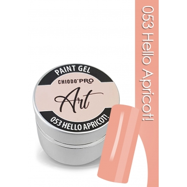 CHIODO PRO Art Paint Gel - 053 Hello Apricot! 5ml