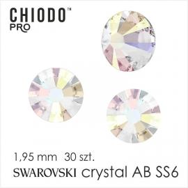 Chiodo PRO Cyrkonie Swarovski AB 30 SS 6