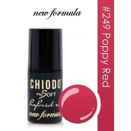 ChiodoPRO SOFT New Formula 249 Poppy Red