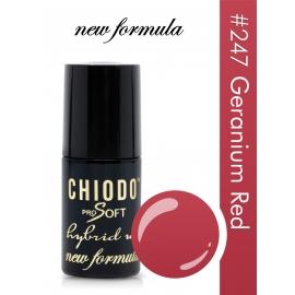 ChiodoPRO SOFT New Formula 247 Geranium Red
