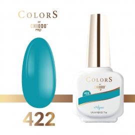 Lakier hybrydowy Colors By ChiodoPRO nr 422 Aqua 7 ml