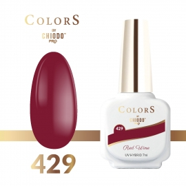 Lakier hybrydowy Colors By ChiodoPRO nr 429 Red Wine 7 ml