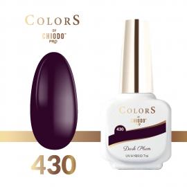 Lakier hybrydowy Colors By ChiodoPRO nr 430 Dark Plum 7 ml