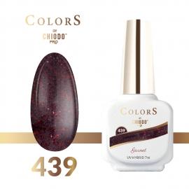 Lakier hybrydowy Colors By ChiodoPRO nr 439 Garnet 7 ml