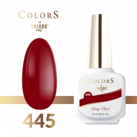 Lakier hybrydowy Colors By ChiodoPRO nr 445 Deep Red 7 ml