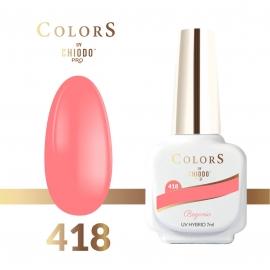 Lakier hybrydowy Colors By ChiodoPRO nr 418 Begonia 7 ml